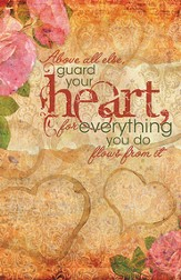 Guard Your Heart, Pack of 50 Bulletins