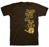 Hands Dirty Shirt, Brown, XX-Large