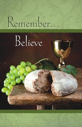 Remember Believe, Pack of 50 Bulletins