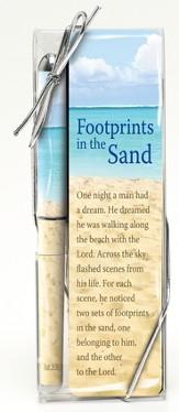 Footprints Pen and Bookmark Set