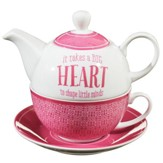 It Takes A Big Heart, Tea For One