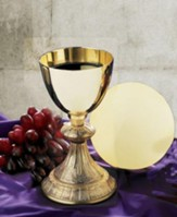Dual Finish Chalice with Paten Set