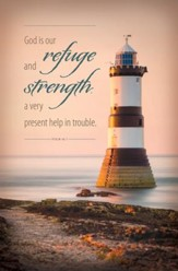 Refuge and Strength (Psalm 46:1) Funeral Bulletins, 100