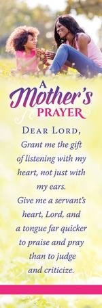 A Mother's Prayer (Proverbs 31:26) Pack of 25 Bookmarks