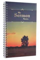 My Sermon Notes Tree Wirebound Notebook