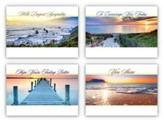 Peaceful Sunsets, Box of 12 All Occasion Cards (NIV)