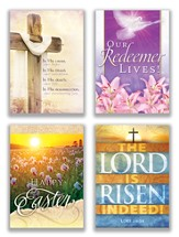 He Lives, Box of 12 Assorted Easter Cards (KJV)