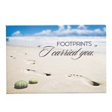 Footprints I Carried You Magnet