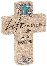 Life is Fragile, Pedestal Cross