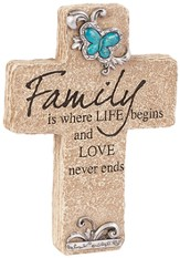 Family, Pedestal Cross