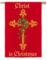 Christ Is Christmas, Large Art Flag
