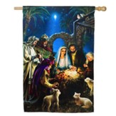 Nativity, Large Flag