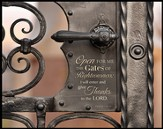 Gates Of Righteousness Framed Art