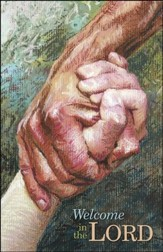 Welcome in the Lord Hands (Philippians 2:29, NIV) Bulletins, 50