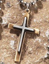 Box Cross Pendant