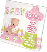Baby Blessings Plaque, Girl