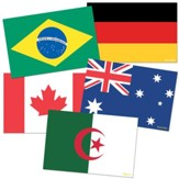 International Flags Instructional Accents, Pack of 72