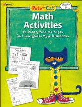 Pete the Cat Math Workbook, Kindergarten