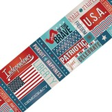 All About America Spotlight Border