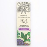 Coloring Bookmarks, Green