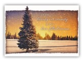 Perfect Peace, Box of 12 Christmas Cards (KJV)