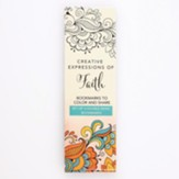 Coloring Bookmarks, Orange