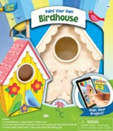 Lovebirds Birdhouse, Wood Paint Kit