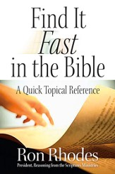 Find It Fast in the Bible: A Quick Topical Reference - eBook