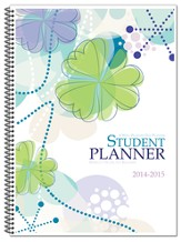 Well-Planned Day Student Planner (Floral Style July 2014 -  June 2015)