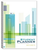 Well-Planned Day Student Planner (Tech Style, July 2014-June  2015)