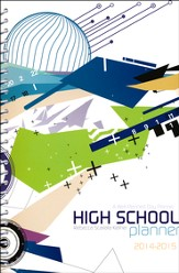 A Well-Planned Day High School 1 Year Planner (July 2014 -  June 2015)