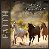 Faith Is Being Sure, Horse Print