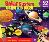 Solar System Glow in the Dark Puzzle, 60 Pieces