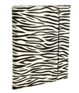 iPad Cover with Organizer, Zebra