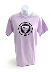 Zion Bible College Short-sleeve Tee, Orchid, Small (36-38)