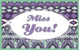 Miss You Splash Postcards, 25