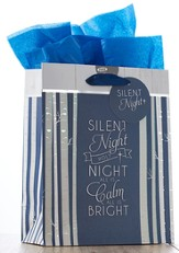 Silent Night Medium Gift Bag