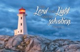 Lord Is My Light Postcards (Psalm 27:1) Pack of 25