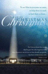 This is Christmas (John 3:16) Bulletins, 100