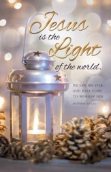 Light of the World (Matthew 2:2, NIV) Bulletins, 100