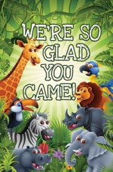 Glad You Came Postcards (Psalm 122:1, NIV) Pack of 25
