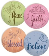 Nature's Grace Angels Coaster Set