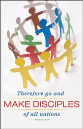 Make Disciples (Matthew 28:19) NIV Bulletins, 100