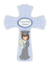 Precious Moments, Graduation, Follow Your Dreams Cross