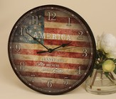 America, Land Of the Free Clock