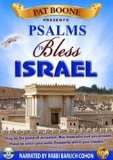 Pat Boone Presents Psalms to Bless Israel: DVD and CD