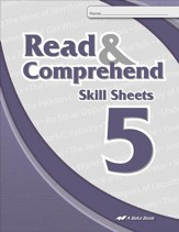 Read & Comprehend Skill Sheets 5