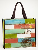 Loving God's Abundant Life Tote Bag