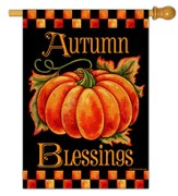 Autumn Blessings Flag, Large