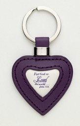 For God So Loved the World Keychain
